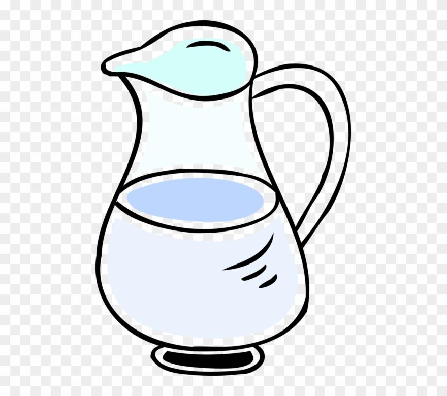 Agua jug clipart banner freeuse Vector Illustration Of Juice Or Drink Pitcher Jug - Jarra De Agua ... banner freeuse