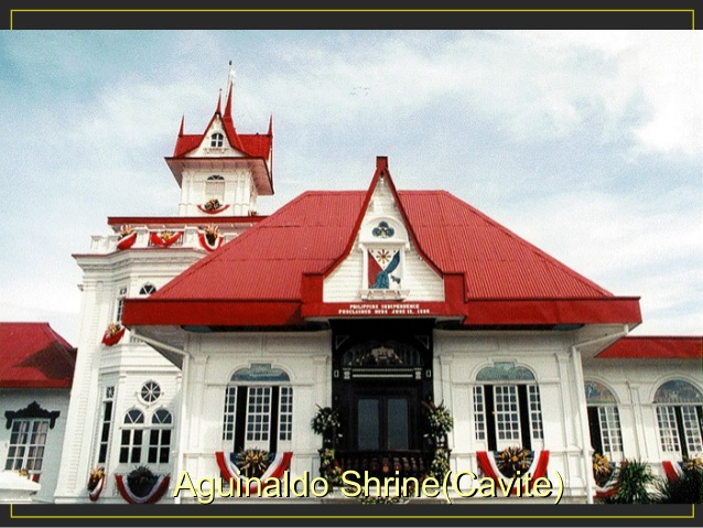 Aguinaldo shrine clipart clip black and white download Historical and natural places in the philippines clip black and white download