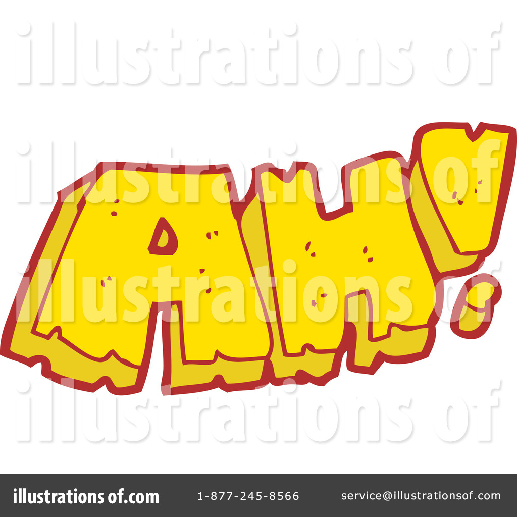 Ah clipart banner stock Word Ah Clipart #1192645 - Illustration by lineartestpilot banner stock