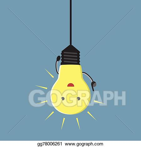Aha lightbulb clipart royalty free Vector Art - Inspired lightbulb character. EPS clipart gg78006261 ... royalty free