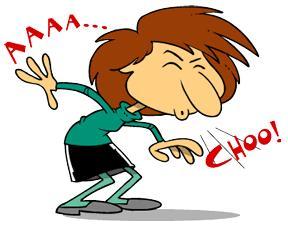 Ah-choo sneezy demon clipart clipart Joanie\'s Random Ramblings: AH-CHOO!!! clipart