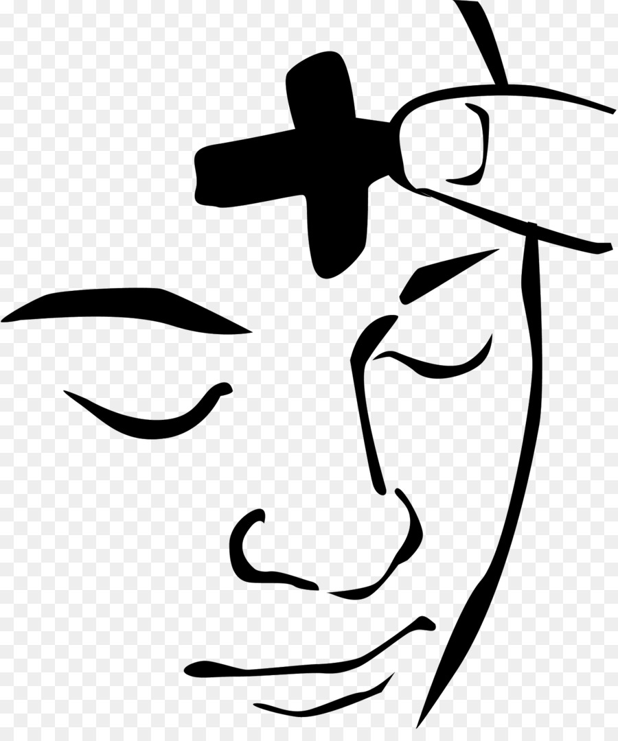 Ahs wednesday clipart svg freeuse library Ash Wednesday clipart - White, Black, Text, transparent clip art svg freeuse library