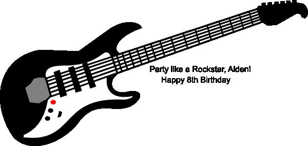 Aiden clipart picture download Guitar-aiden Clip Art at Clker.com - vector clip art online, royalty ... picture download
