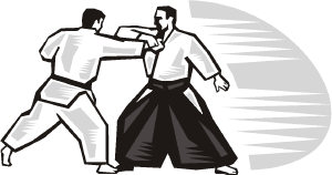 Aikido clipart image black and white library Aikido Clipart image black and white library