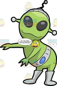 Ailen dancing clipart clipart royalty free An Alien Dancing The Floss clipart royalty free