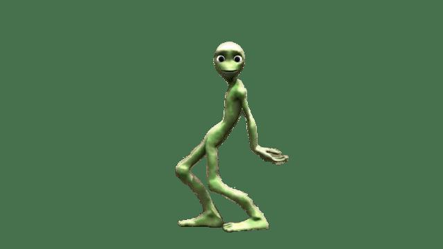 Ailen dancing clipart vector stock Dame Tu Cosita Alien Dance Move transparent PNG - StickPNG vector stock