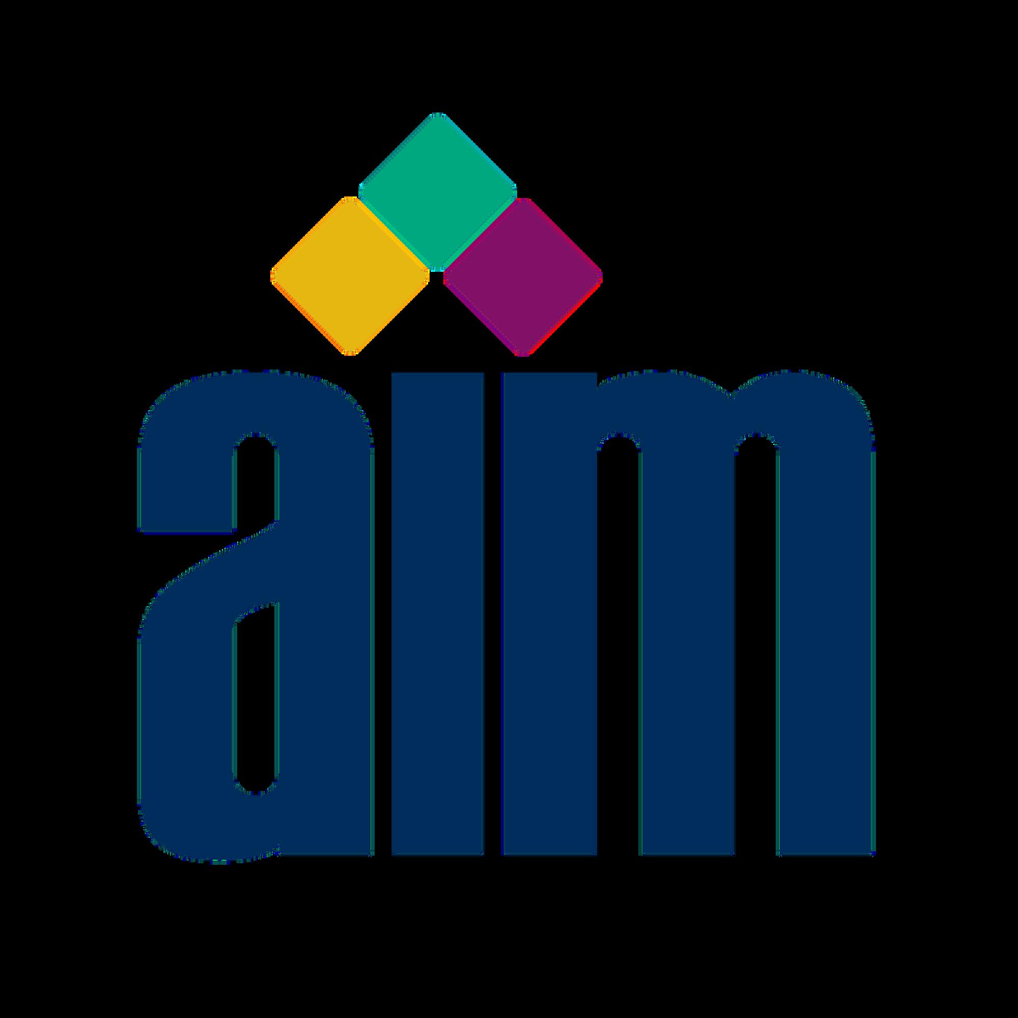 Aim global clipart log in svg free download AIM Members svg free download