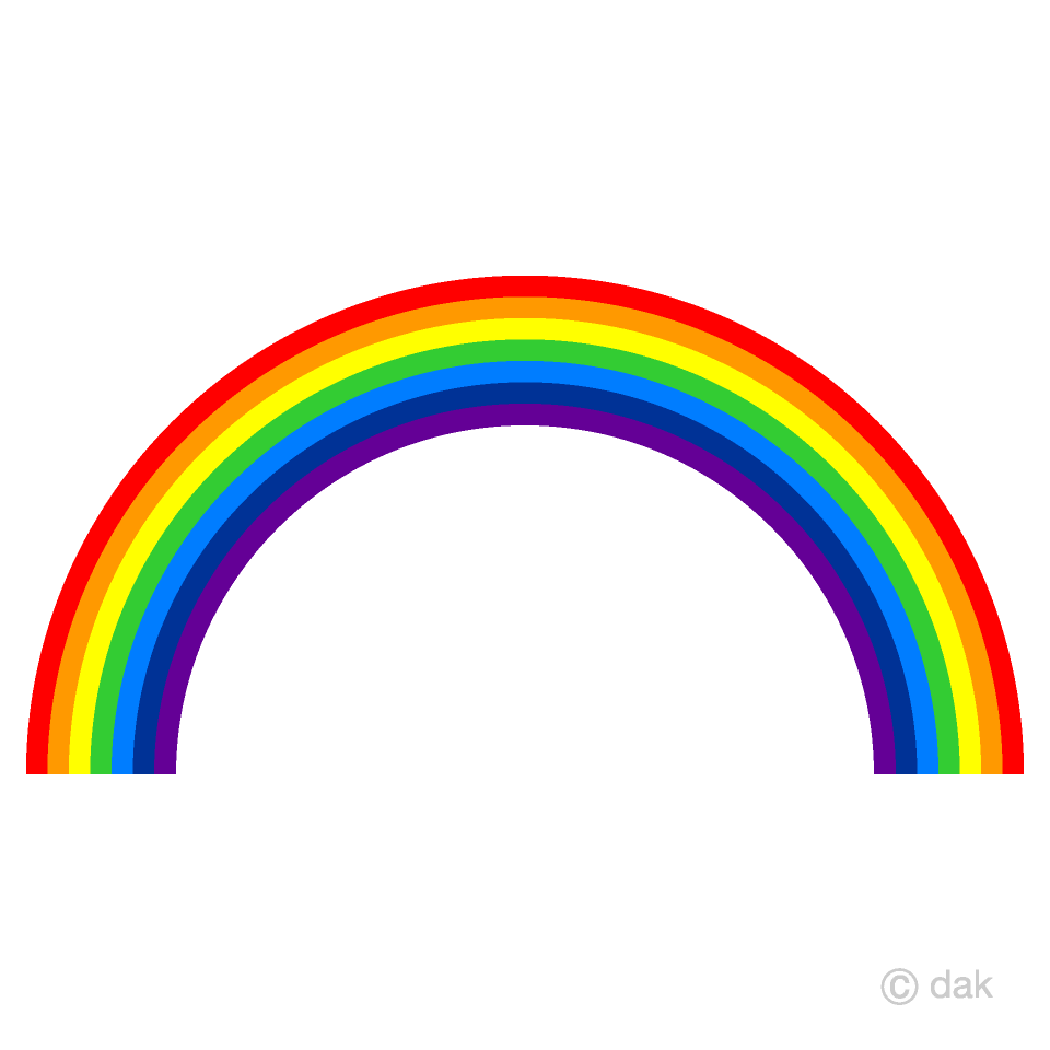 Rainbow clipart picture download Rainbow Clipart Free Picture|Illustoon picture download