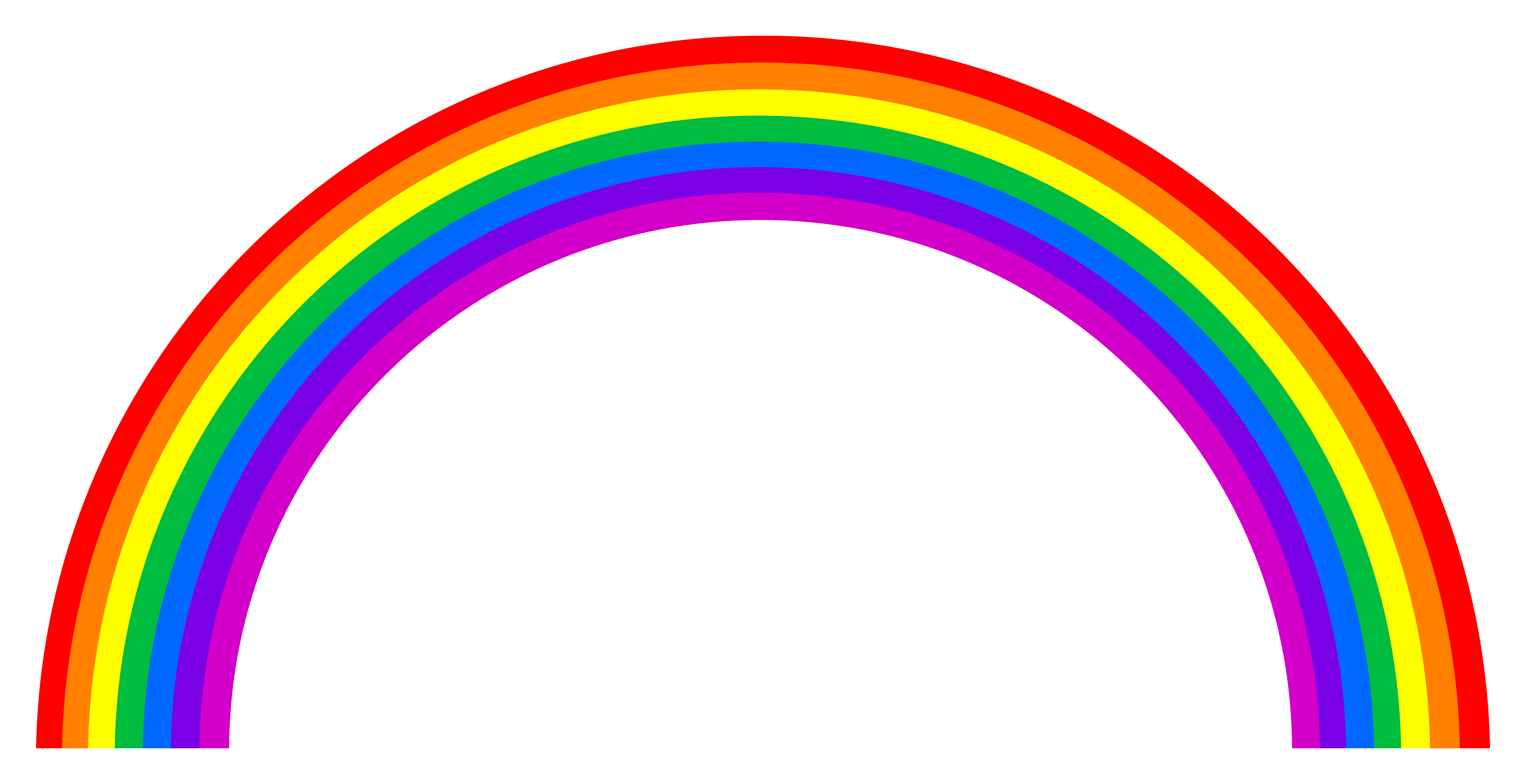 Ainbow clipart graphic royalty free stock Rainbow Clipart Black And White | Clipart Panda - Free Clipart ... graphic royalty free stock