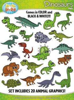 Aip-a-dee-doo-dah clipart clip transparent stock Dinosaur Clipart {Zip-A-Dee-Doo-Dah Designs}   My Teachers Pay ... clip transparent stock