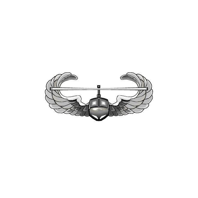 Air assault badge clipart svg free stock Air Assault crest US Army - Free vector image in AI and EPS format. svg free stock
