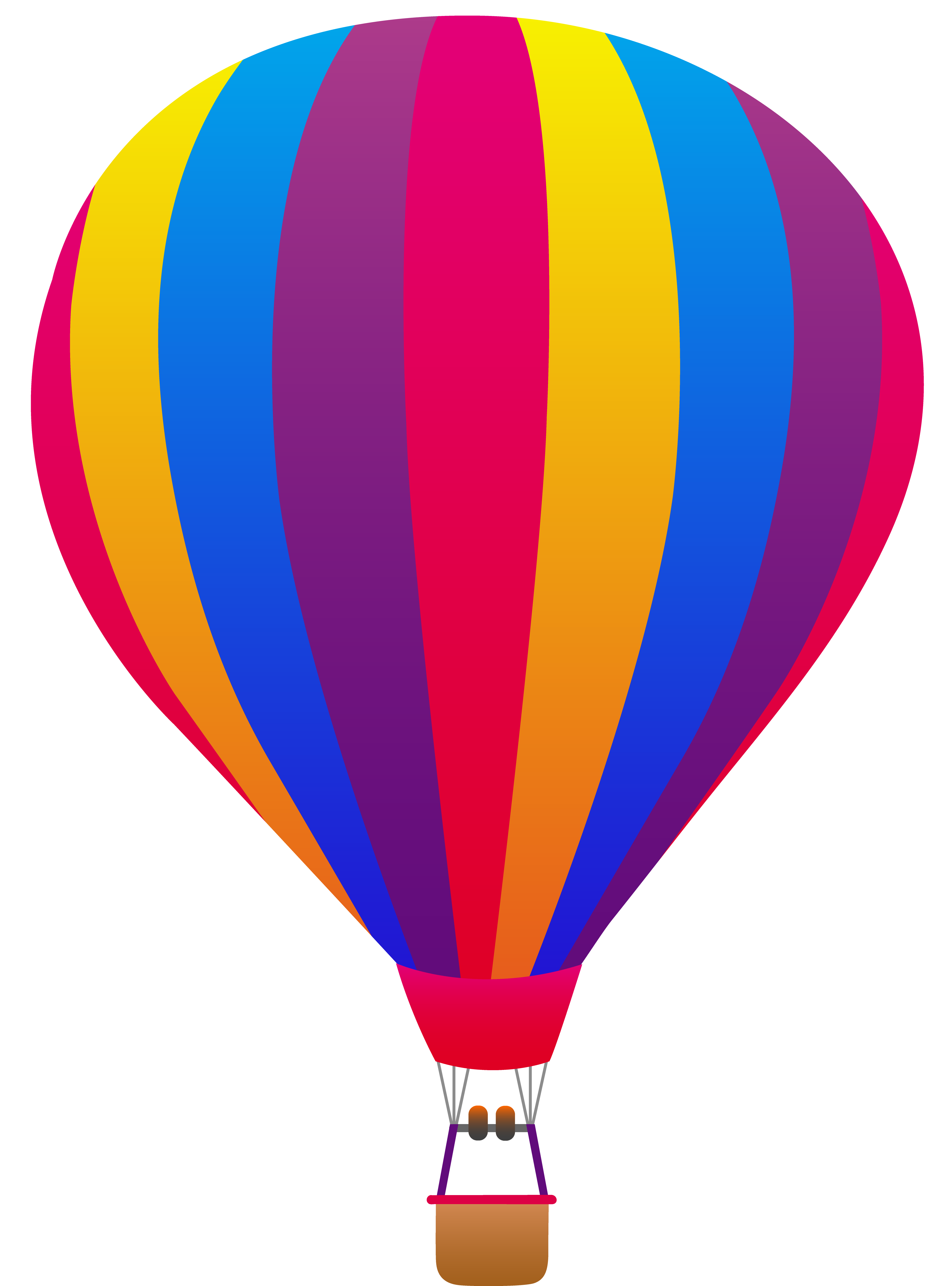 Air balloon clipart free banner free library Best Hot Air Balloon Clip Art #1294 - Clipartion.com banner free library