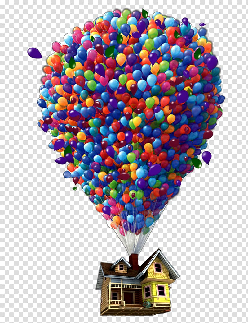 Air balloon up clipart graphic free download Up , YouTube Pixar Balloon Up Monsters, Inc., youtube transparent ... graphic free download