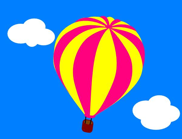 Air balloon up clipart clip art royalty free stock Hot Air Balloon In The Sky | Clipart Panda - Free Clipart Images clip art royalty free stock
