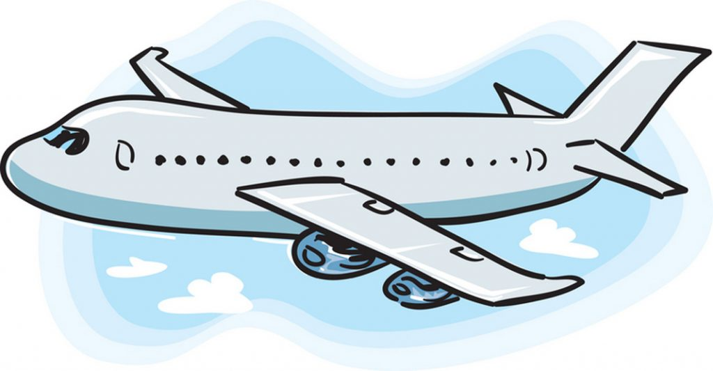 Air clipart flight schedule banner library Story Time: Flight - DelmarvaLife banner library