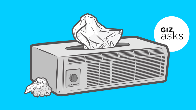 Guy working on air conditioner clipart sketch png library stock Can You Get Sick From Air Conditioning? png library stock