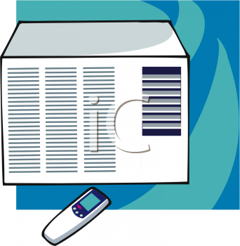 Air conditioner on clipart vector stock Room Air Conditioner Clipart Clipart Suggest – Homes Tips vector stock
