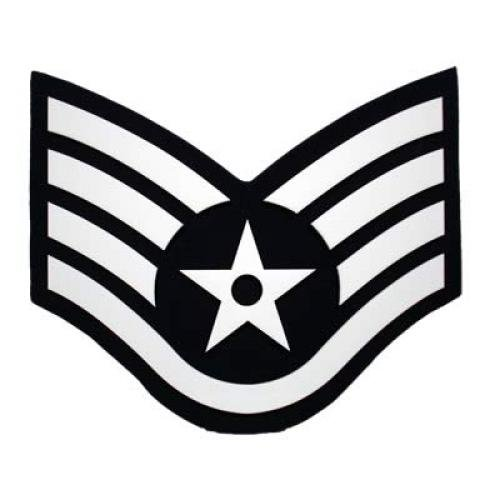 Air force e9 clipart black and white transparent stock Air Force Chevron Plaques transparent stock