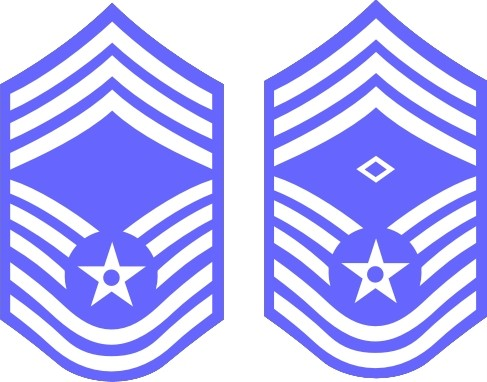 Air force e9 clipart black and white clipart transparent library Air Force Rank Insignia E9 Chief Master Sergeant decal clipart transparent library