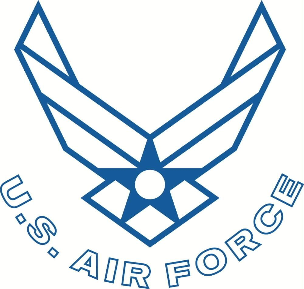 Air force e9 clipart black and white clipart library stock US Air Force logo tattoo | My Style | Air force symbol, Air force ... clipart library stock
