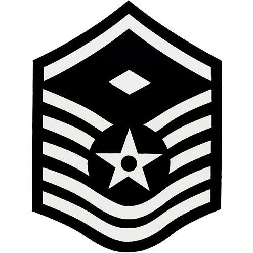 Air force master sergeant stripes clipart png free download Air Force Enlisted Rank Decal png free download