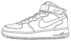 Air force one cliparts clipart free stock Image result for air force one shoe clip art | sneaker templates in ... clipart free stock