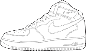 Air force one cliparts graphic transparent stock Image result for air force one shoe clip art | sneaker templates in ... graphic transparent stock