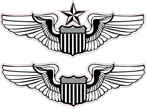 Air force wings clipart picture royalty free library Free Pilot Wings Cliparts, Download Free Clip Art, Free Clip Art on ... picture royalty free library