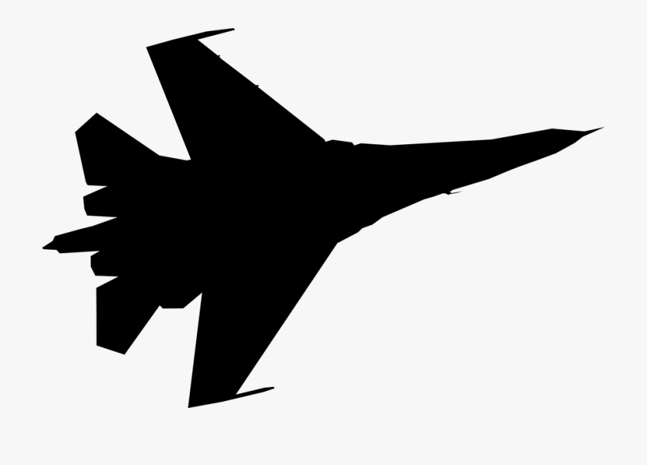 Airfoce airplane clipart jpg free Vector Jet White Background - Air Force Plane Clipart #142531 - Free ... jpg free