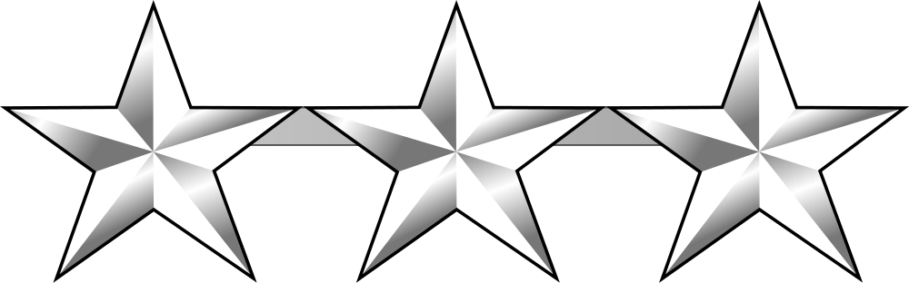 Air force star clipart png library stock Learn: United States Air Force Rank Structure (by terrycotta ... png library stock
