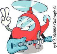 Air guitar clipart jpg freeuse download Air Guitar Clip Art - Royalty Free - GoGraph jpg freeuse download