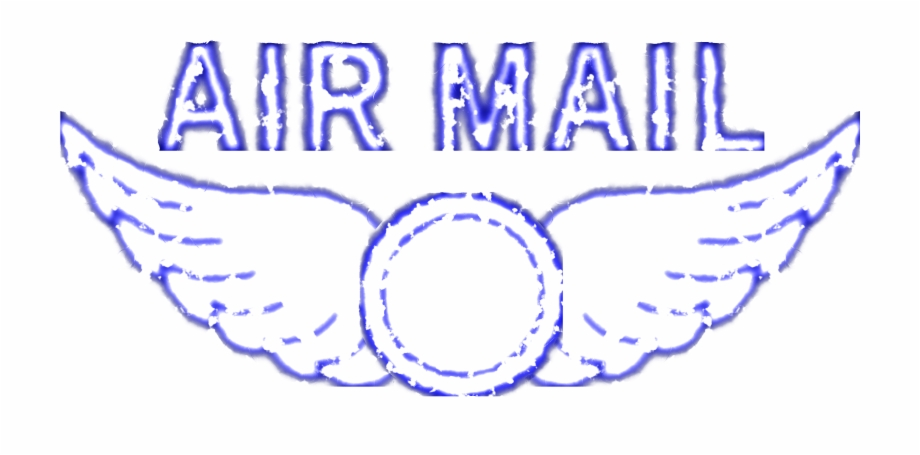 Air mail clipart free png transparent library This Free Icons Png Design Of Vintage Air Mail Rubber - Air Mail ... png transparent library