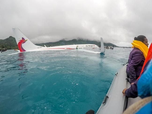 Air niugini clipart graphic Air Niugini flight report shows co-pilot was Australian graphic