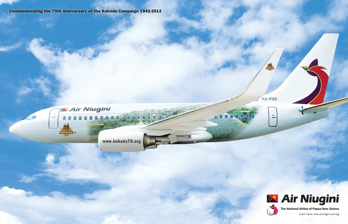 Air niugini clipart job vacancies png transparent stock Mikael Sandstrom - Air Niugini 70th Anniversary png transparent stock