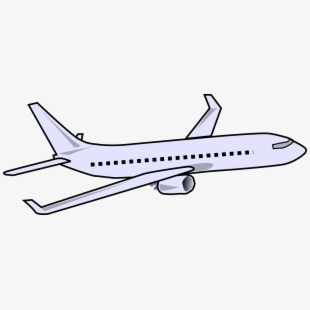 Air plane pictures clipart svg black and white stock Airplane Clipart Passenger Plane - Airplane Clip Art , Transparent ... svg black and white stock