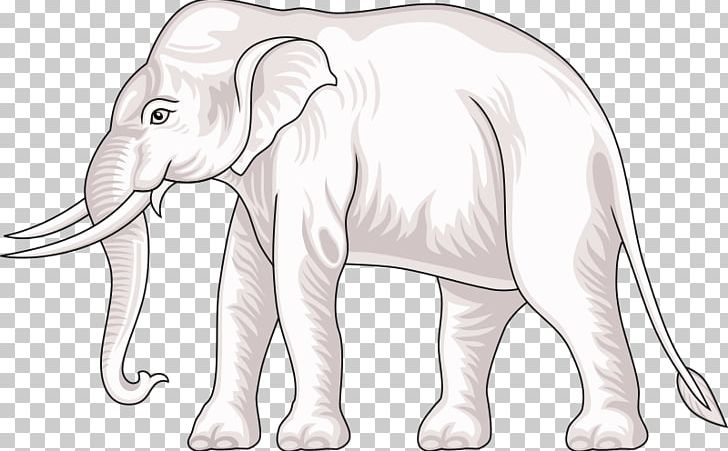 Airavata clipart cute black and white Indian Elephant African Elephant Surin Province White Elephant ... black and white