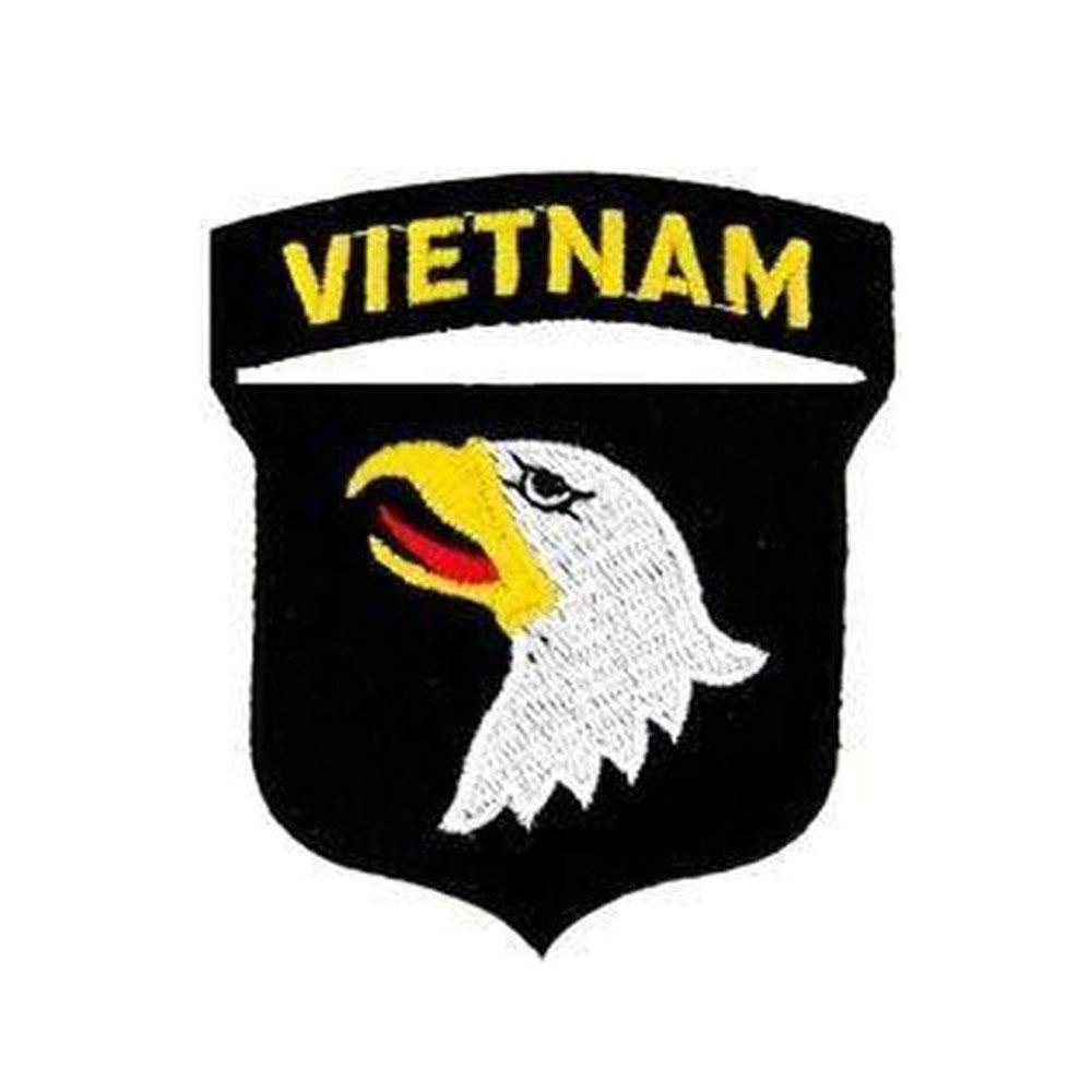 Airborne military patch clipart jpg royalty free stock Vietnam 101st Airborne Division Small Patch - 3\