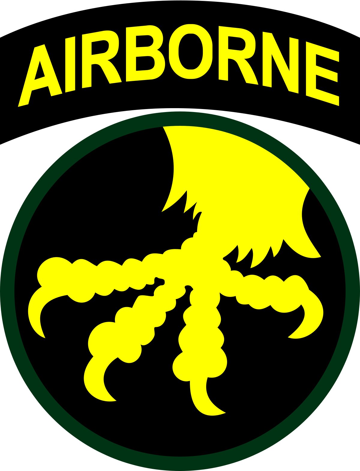 Airborne military patch clipart vector download 17th Airborne Division (United States) - Wikipedia vector download
