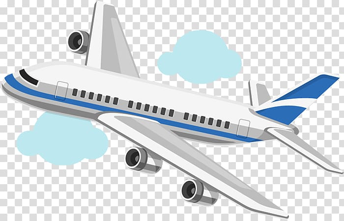 Airbus 320 cartoon clipart png free library White and blue commercial jet plane illustration, Airplane Aircraft ... png free library