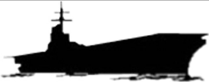 Aircraft carrier silhouette clipart graphic free Pin by Cynthia Teasley-Watson on Silhouettes | Aircraft carrier ... graphic free