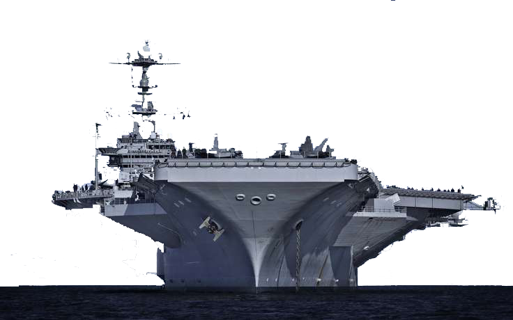 Aircraft carrier silhouette clipart clip free stock Heavy cruiser USS Gerald R. Ford Light aircraft carrier Amphibious ... clip free stock