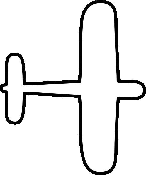 Aircraft outline clipart clipart transparent download Airplane Outline Clip Art at Clker.com - vector clip art online ... clipart transparent download