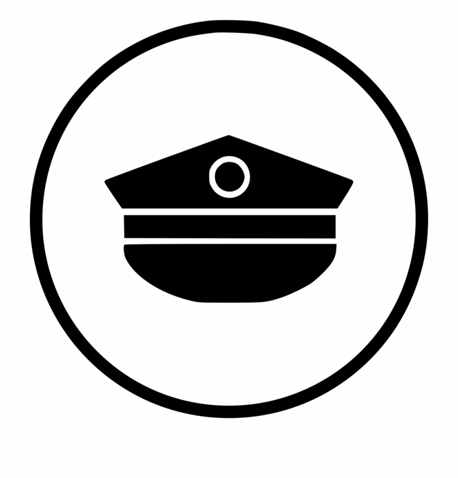 Airforce hat clipart picture black and white library Air Army Cap Force Hat Uniform Comments - Air Force Hat Icon Free ... picture black and white library