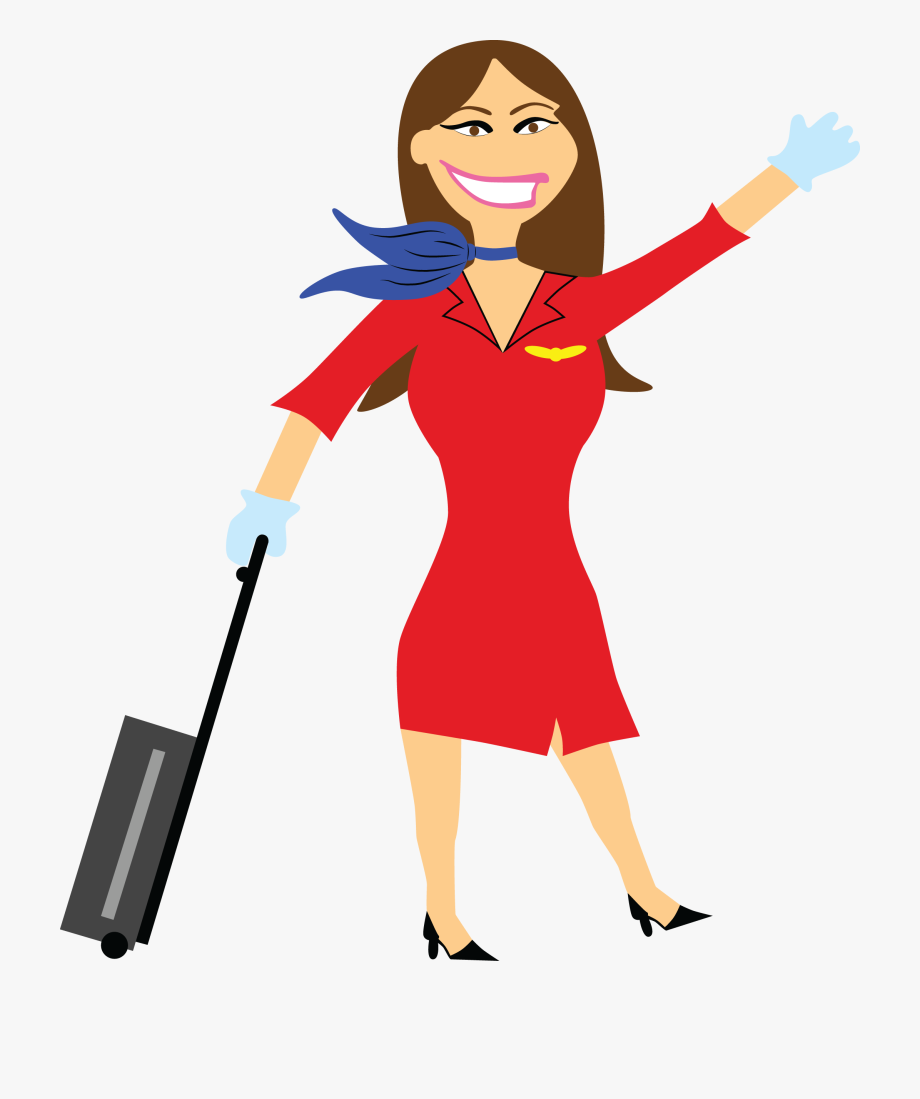Airline stewardess clipart jpg free Flight Attendant Free Download Png - Flight Attendant Clipart Png ... jpg free