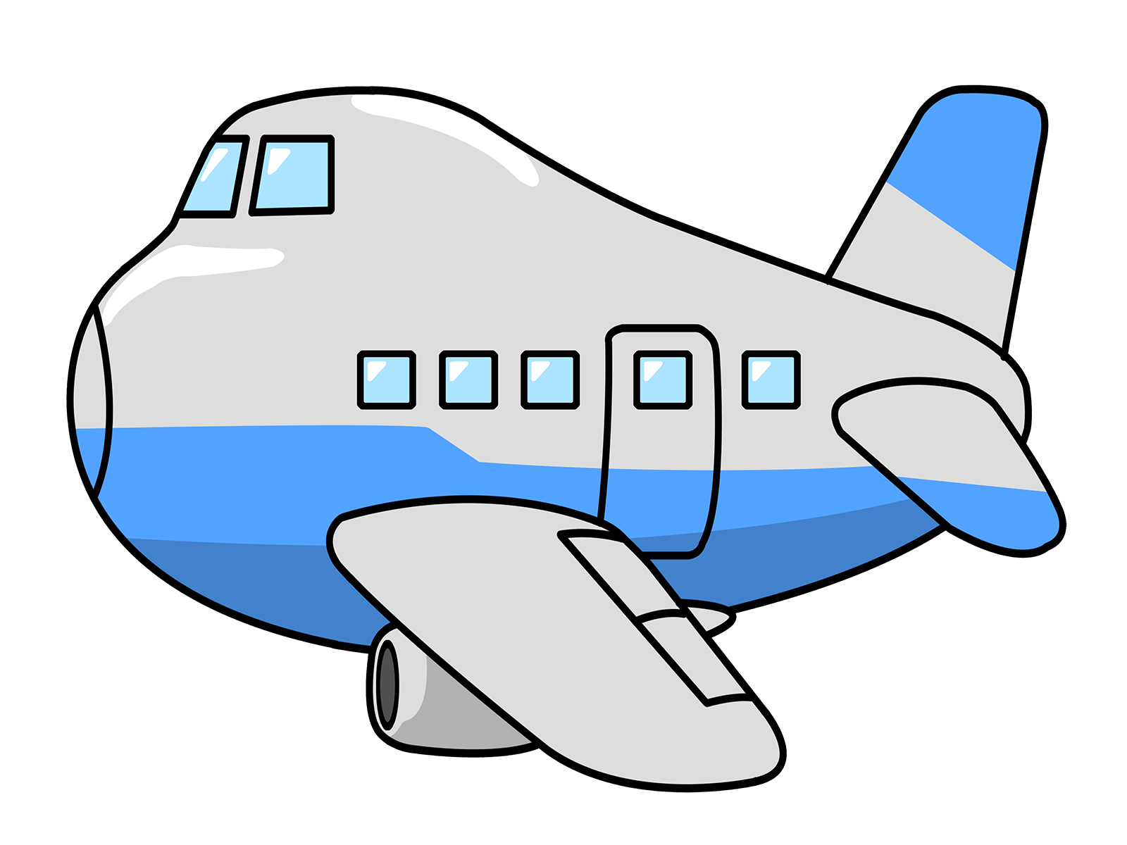 Airplane clipart clipart svg black and white library Cartoon Airline | Free download best Cartoon Airline on ClipArtMag.com svg black and white library