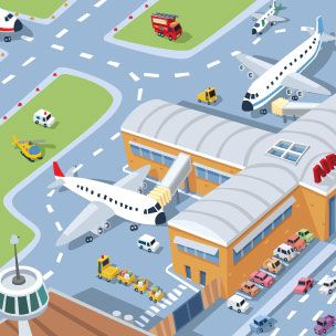 Airlines clipart cheap flights vector royalty free download airport clipart - Google Search | illo | Airline flights ... vector royalty free download