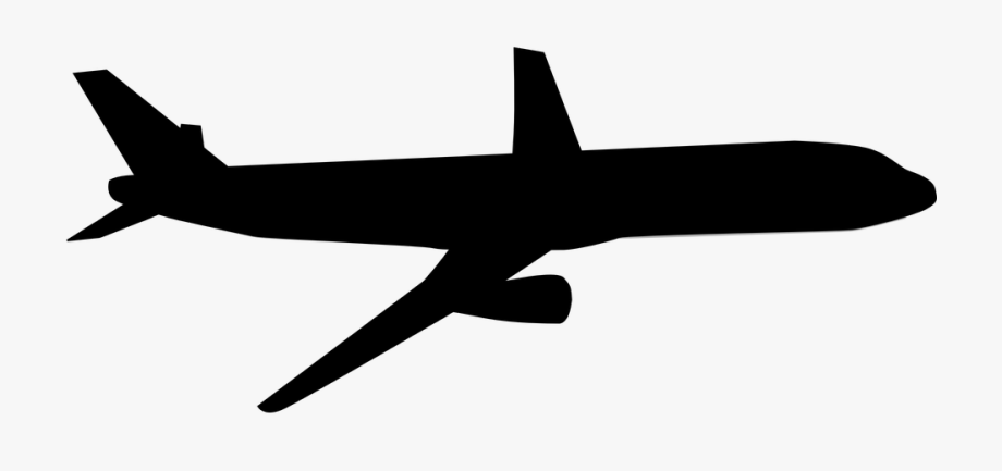 Avion clipart black and white royalty free library Mini Airplane Clipart And Featured Illustration - Black And White ... royalty free library