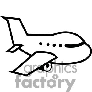 Clipart of airplane vector library Airplane Clipart Black And White | Clipart Panda - Free Clipart Images vector library