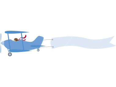 Plane with banner clipart freeuse Airplane With Banner Clipart | Free download best Airplane With ... freeuse