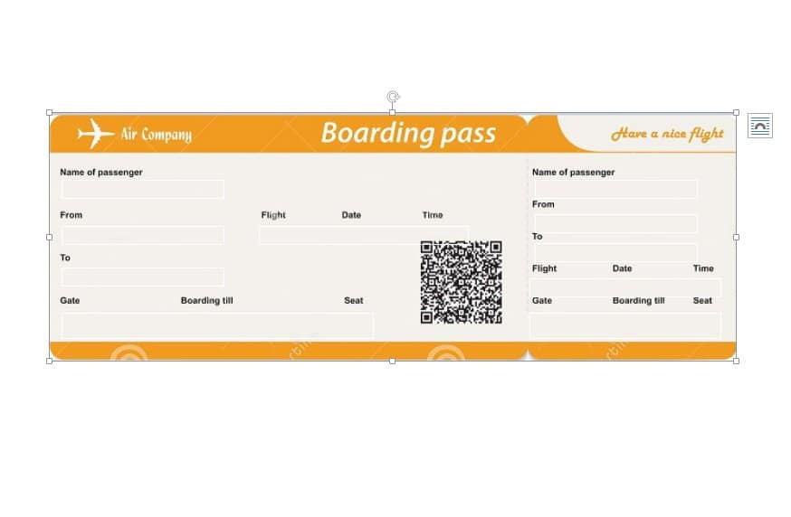 Airplane boarding pass clipart clipart black and white library 16 Real & Fake Boarding Pass Templates - 100% FREE ᐅ Template Lab clipart black and white library